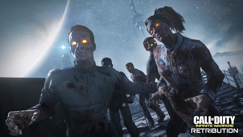 Call of Duty: Infinite Warfare Retribution: список достижений