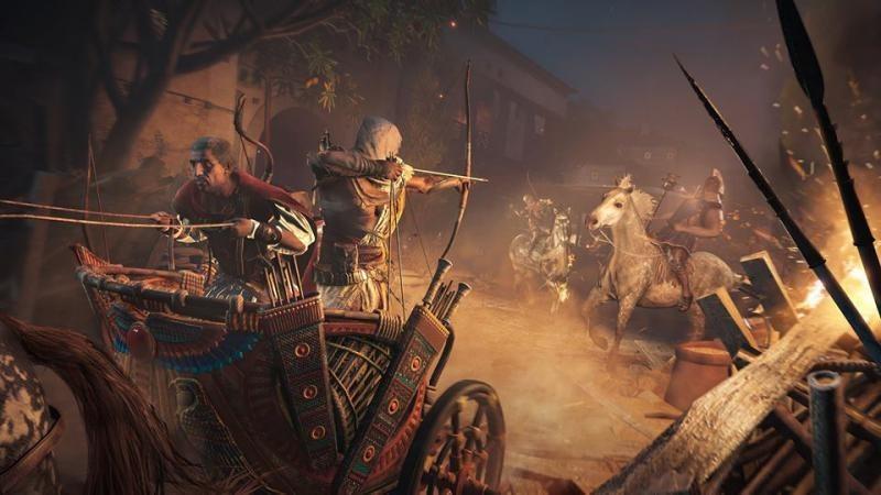 Новые подробности Assassins Creed: Origins с выставки PAX West 2017