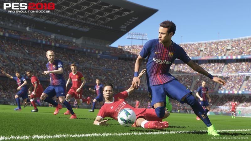 Pro Evolution Soccer 2018 – игра 2018 года