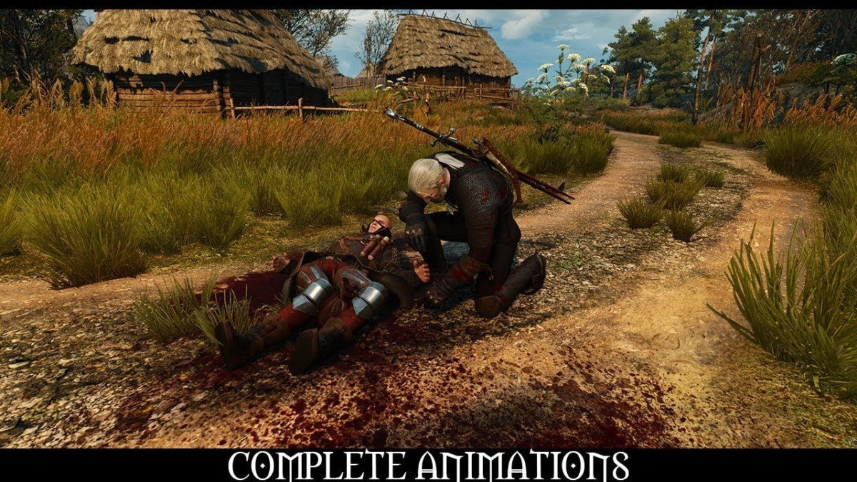 Мод Complete Animations в The Witcher 3: Wild Hunt