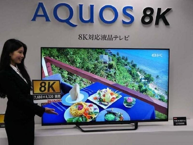 Первый в мире потребительский 8К-телевизор