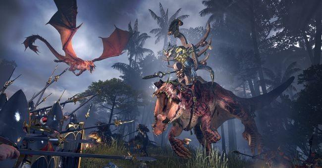 Total War: Warhammer 2: высшие эльфы и людоящеры