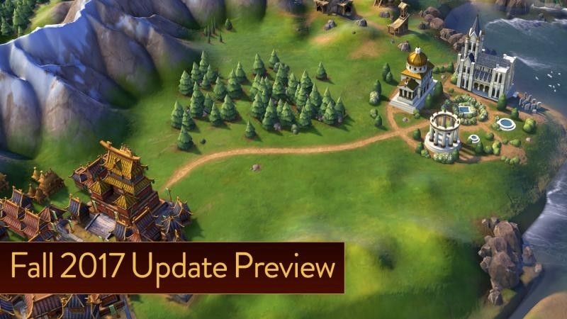 Осеннее обновление Civilization VI улучшит религиозную составляющую игры