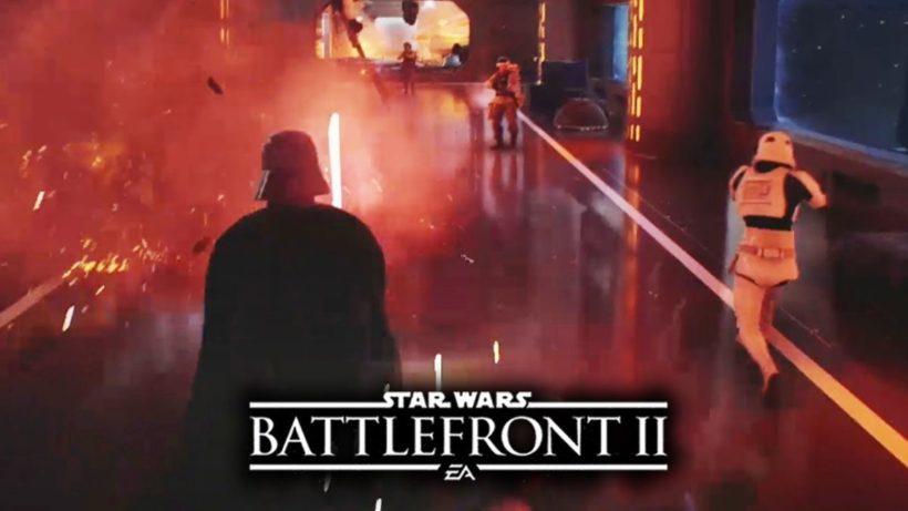 Геймплей Дарта Вейдера в Star Wars Battlefront 2