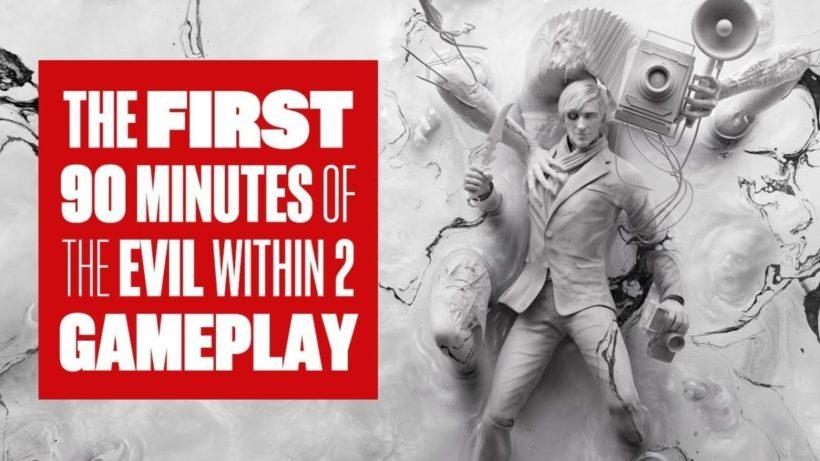 Первые полтора часа The Evil Within 2 от Eurogamer