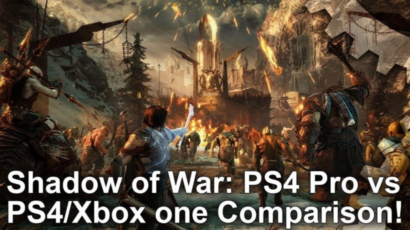 Проблемы Middle-earth: Shadow of War на PS4 Pro и Xbox One X