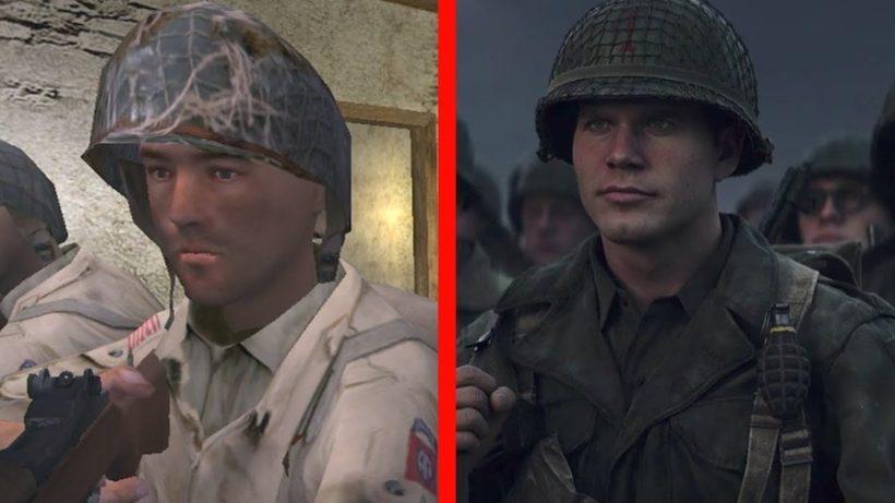 Сравнение Call of Duty (2003) vs Call of Duty: WW2