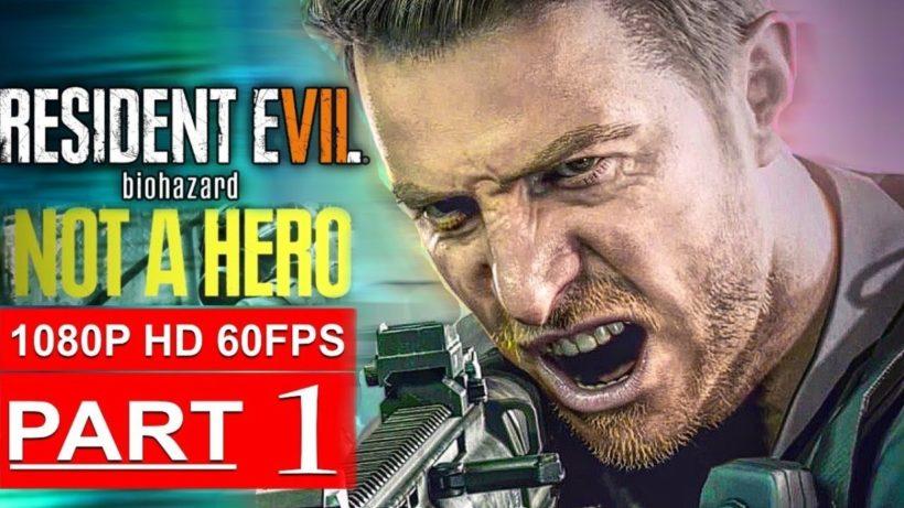24 минуты Resident Evil 7: Not a Hero