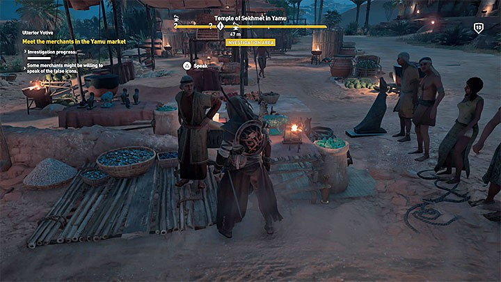 Assassin's Creed: Origins: квесты Озеро Мареотис