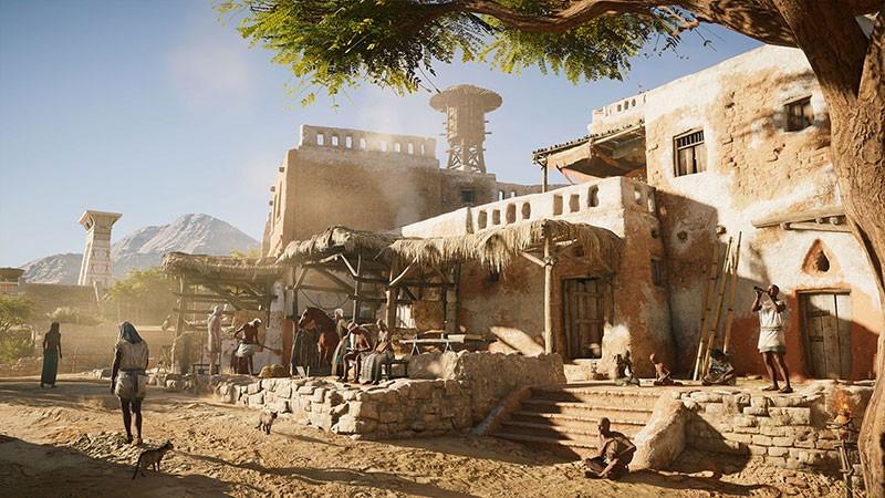 Assassin's Creed: Origins: квесты Ном Канопус и Ном Сап-Мех