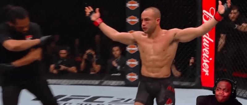 Стример выдал настоящий бой UFC за видеоигру