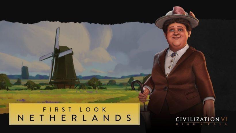 Первый взгляд на Нидерланды в Civilization VI