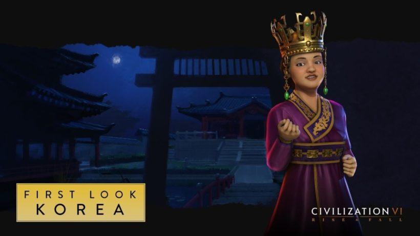 Посмотрите на Корею в Civilization VI: Rise and Fall