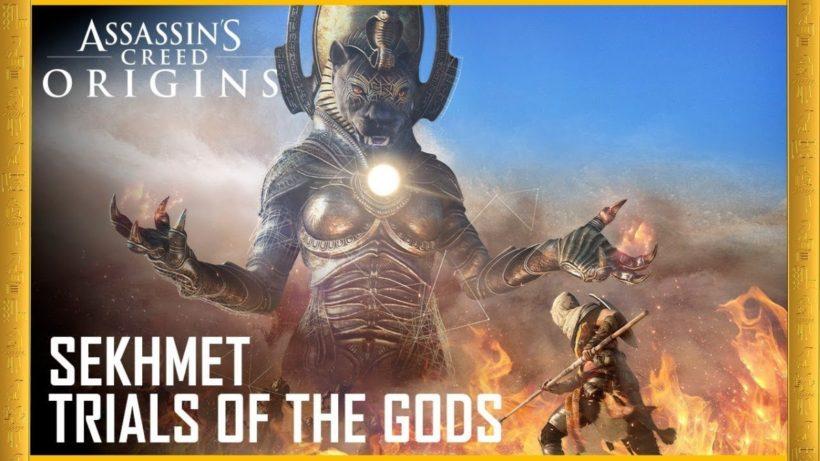 Трейлер и подробности третьего испытания богов в Assassin's Creed: Origins