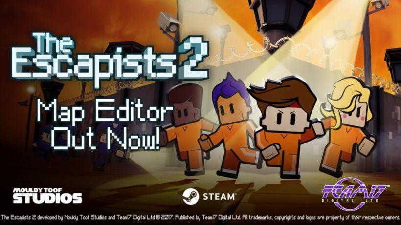 В The Escapists 2 теперь можно строить собственные тюрьмы