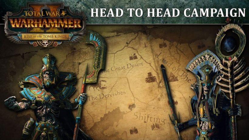 Новый геймплей дополнения Rise of the Tomb Kings для Total War: Warhammer 2