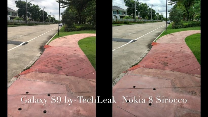 Samsung Galaxy S9 или Nokia 8 Sirocco