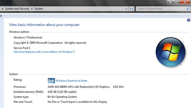 Windows 64-bit или 32-bit: в чем отличия