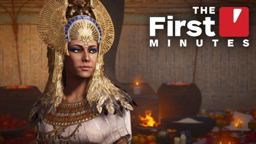 15 минут дополнения «Проклятие фараонов» из Assassin's Creed: Origins