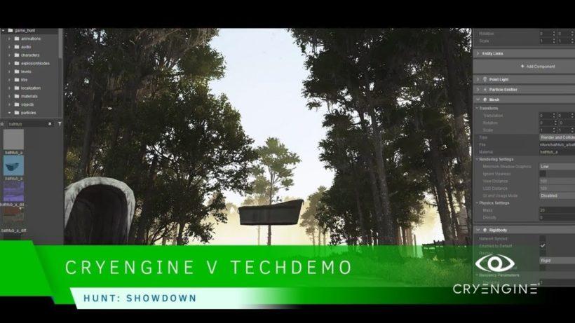 Crytek показала CryEngine V