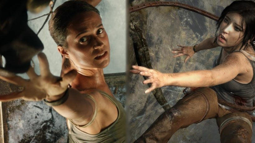 Фильм Tomb Raider сравнили с игрой
