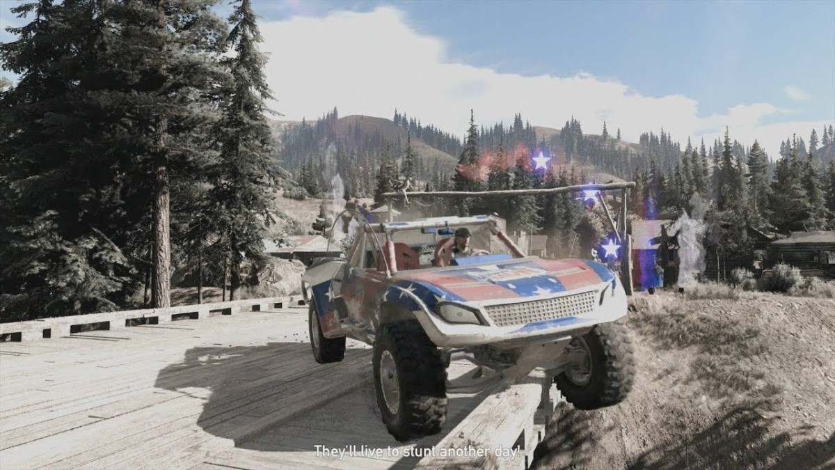 Far Cry 5 испытания Клатча Никсона