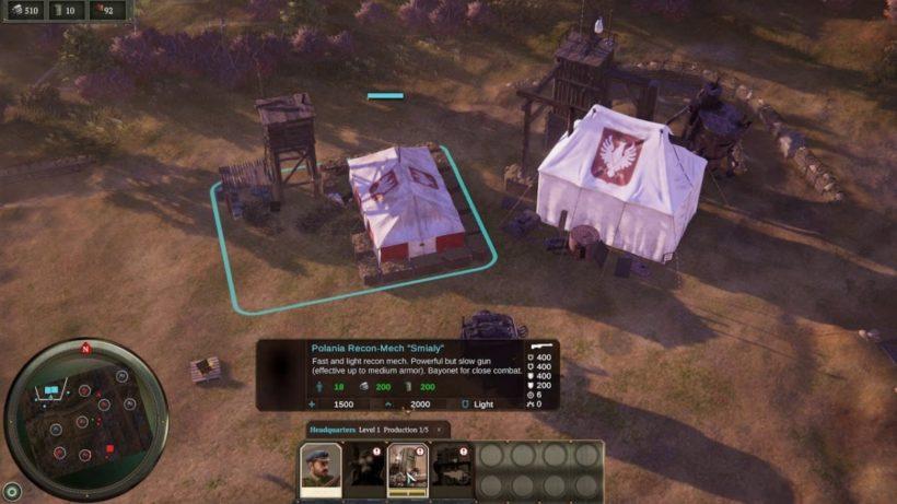 Поcмотри геймплей Iron Harvest