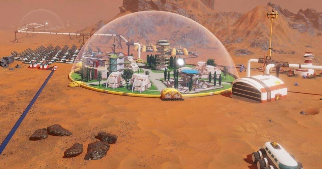 Список сооружений в Surviving Mars