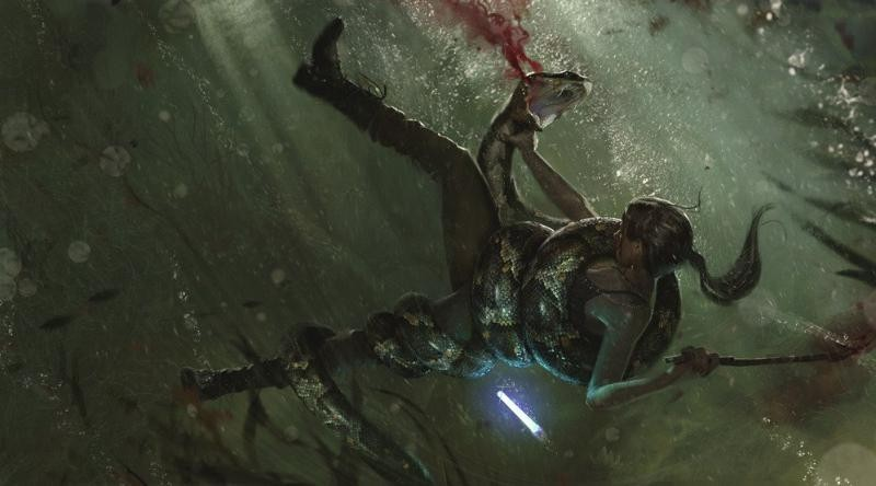 Небольшой обзор Shadow of the Tomb Raider