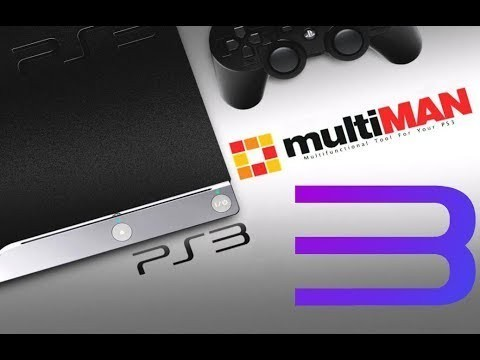 multiMAN запустили на эмуляторе rpcs3