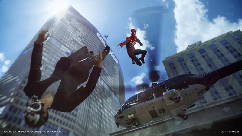 Опубликовали боевку в Spider-Man