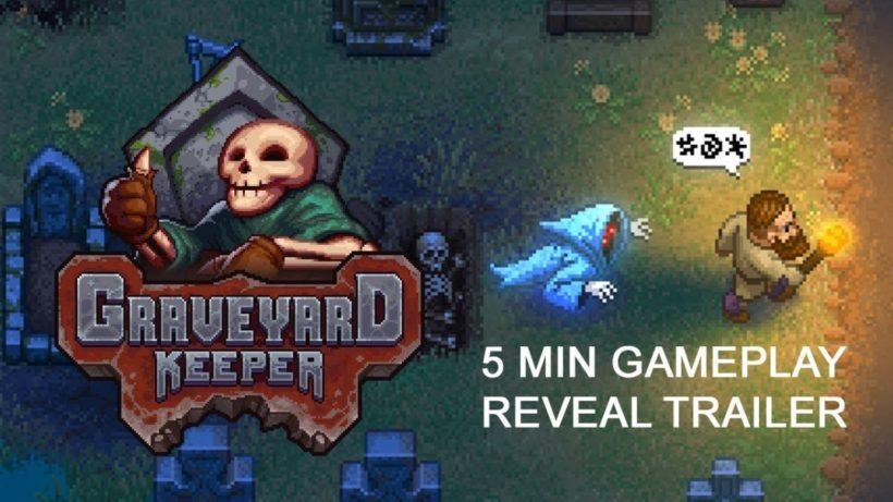 Показали геймплей симулятора смотрителя кладбища Graveyard Keeper