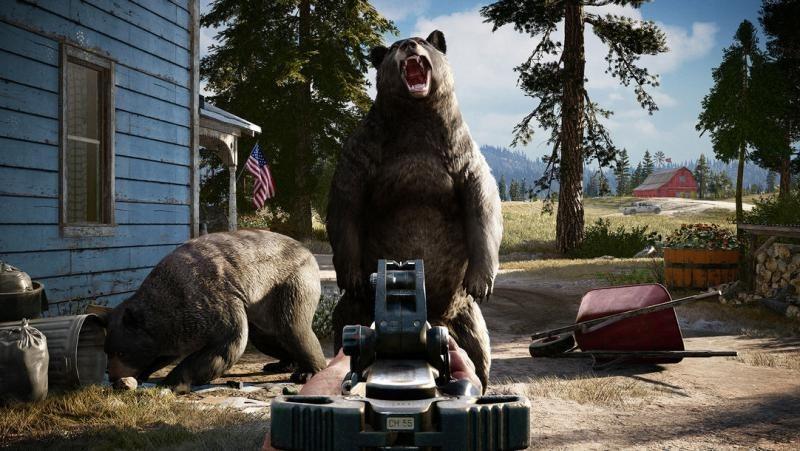 Защитники животных против Far cry 5