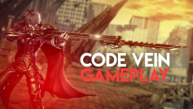 20 минут геймплея Code Vein