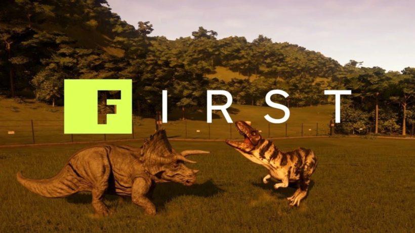 20 минут геймплея Jurassic World Evolution