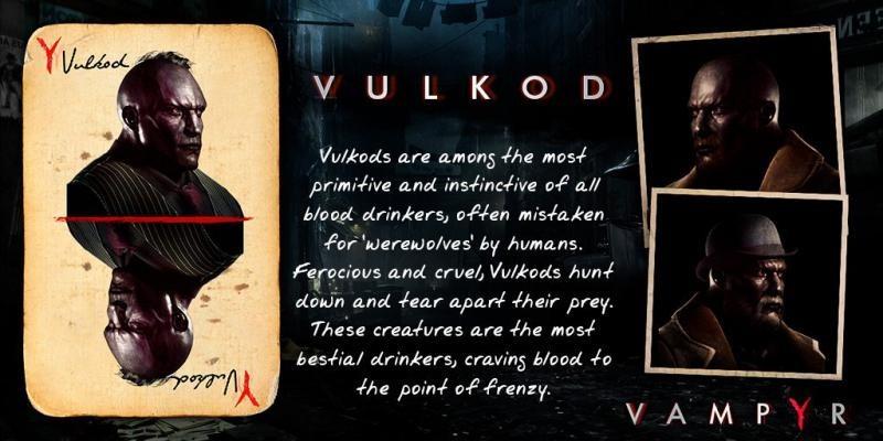 Вулкоды в Vampyr