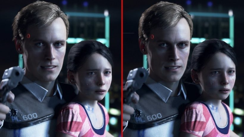 Detroit: Become Human между PS4 и PS4 Pro