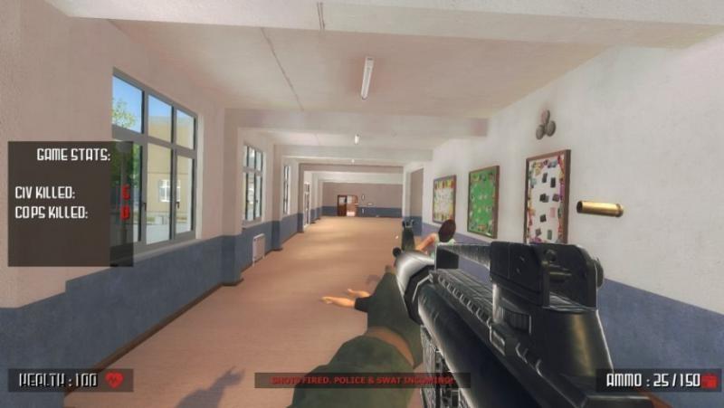 Дожили: симулятор школьной стрельбы появился в Steam
