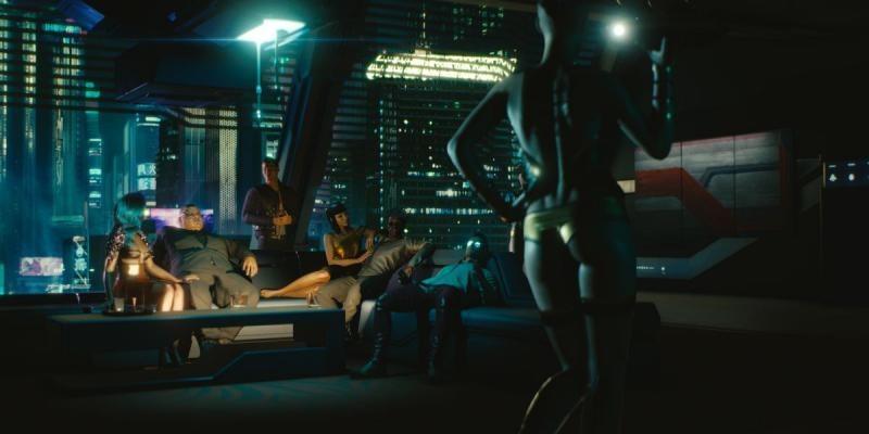 Трансгуманизм в Cyberpunk 2077 подкрепляется глубокой обнаженкой