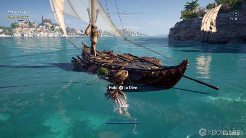 В Assassin's Creed: Odyssey самый большой мир в серии
