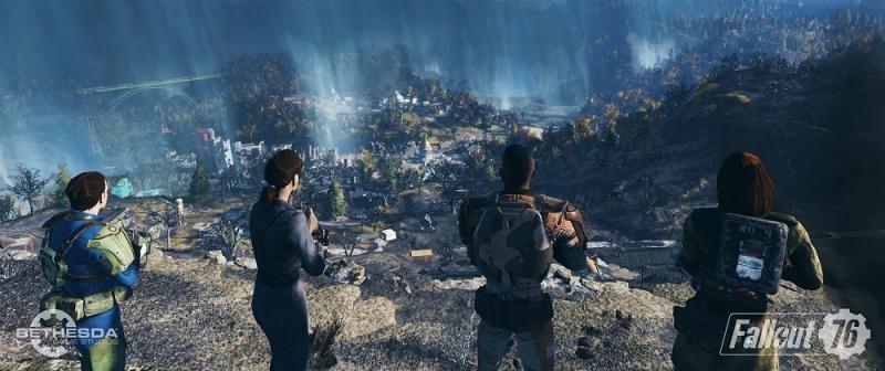 В чем суть мультиплеера Fallout 76