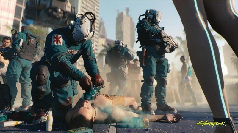 В Cyberpunk 2077 медики обучены быть солдатами