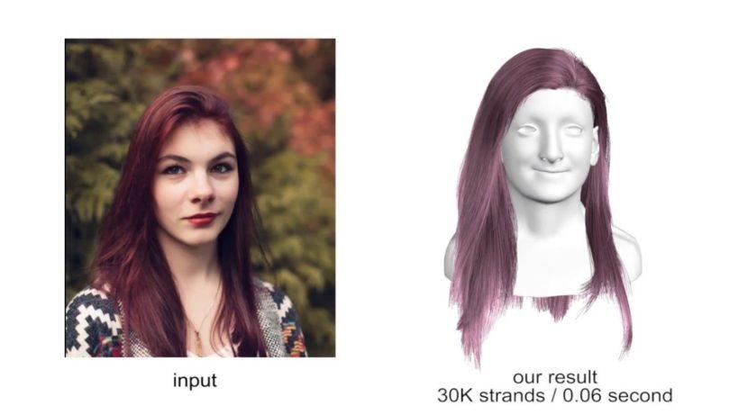 ИИ будет развивать волосы в играх