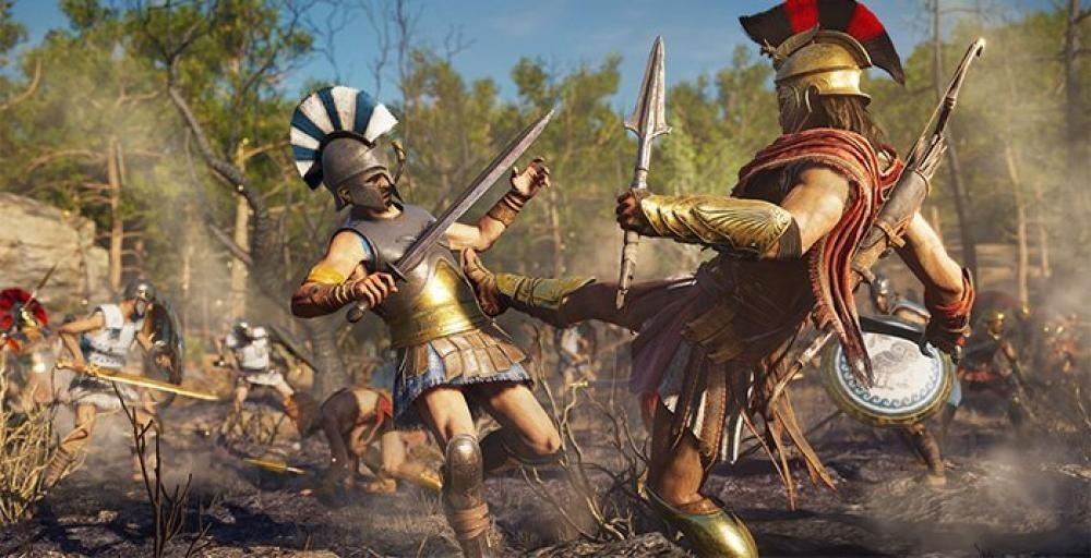 Дождливый день в Assassin's Creed: Odyssey