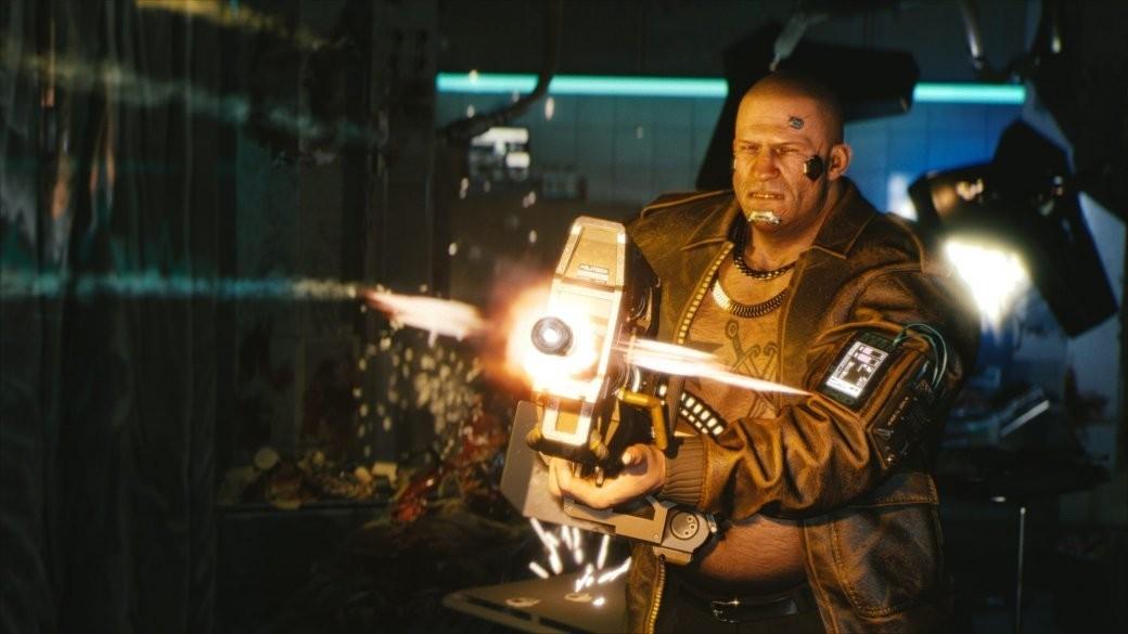 Реальный геймплей Cyberpunk 2077
