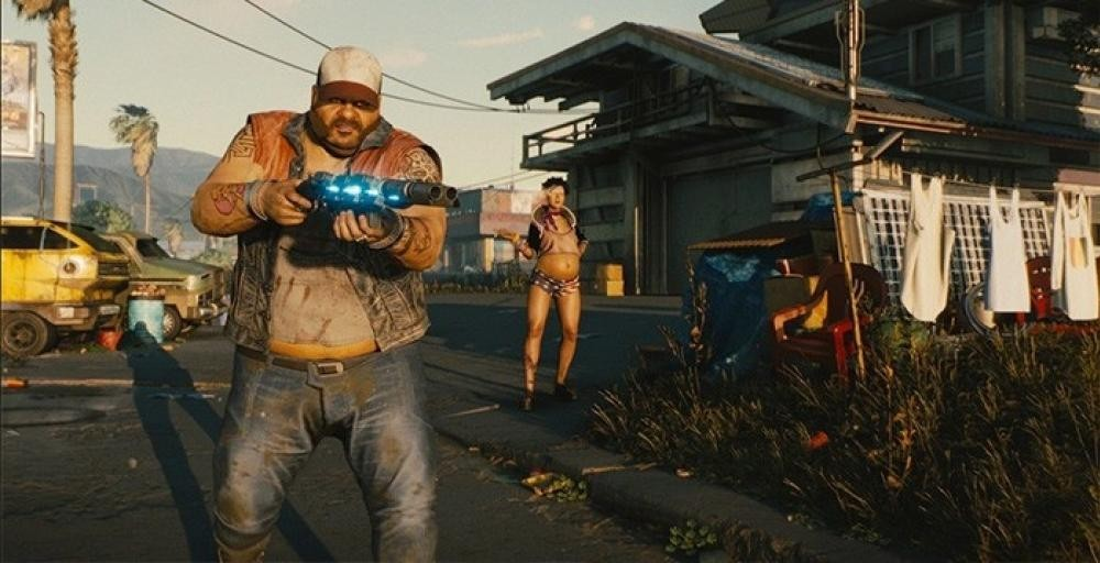 В Cyberpunk 2077 будет Counter-Strike