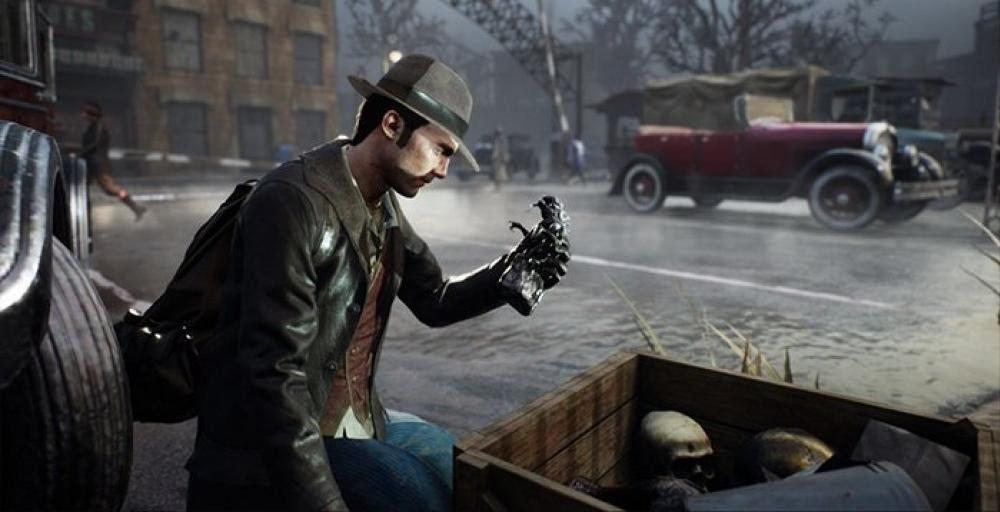 Геймплей детектива Sinking City