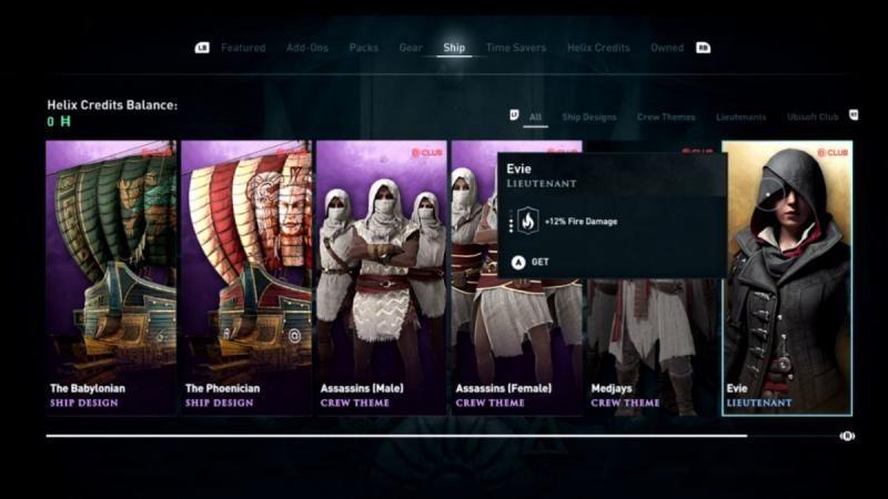Assassin's Creed: Odyssey задонатит больше Origins