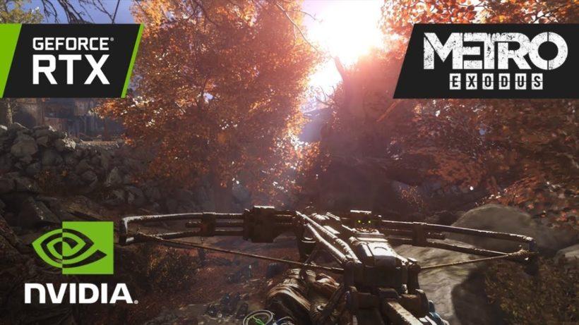 RTX нагинает Metro: Exodus