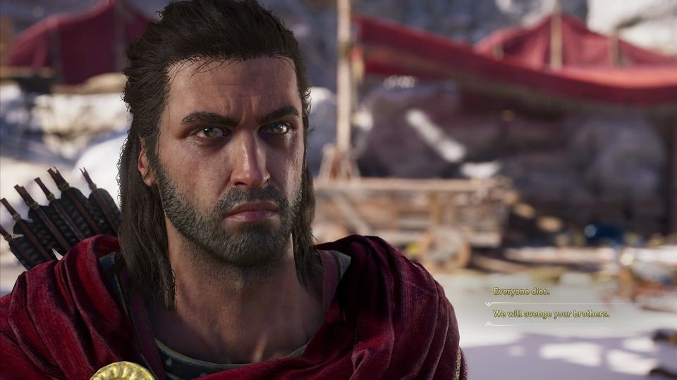 В Assassin's Creed Odyssey есть аналог Дональда Трампа